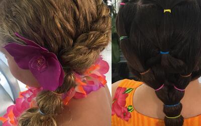 Peinados acuáticos: Samy le mostró a Ana Patricia cómo hacer estos looks...
