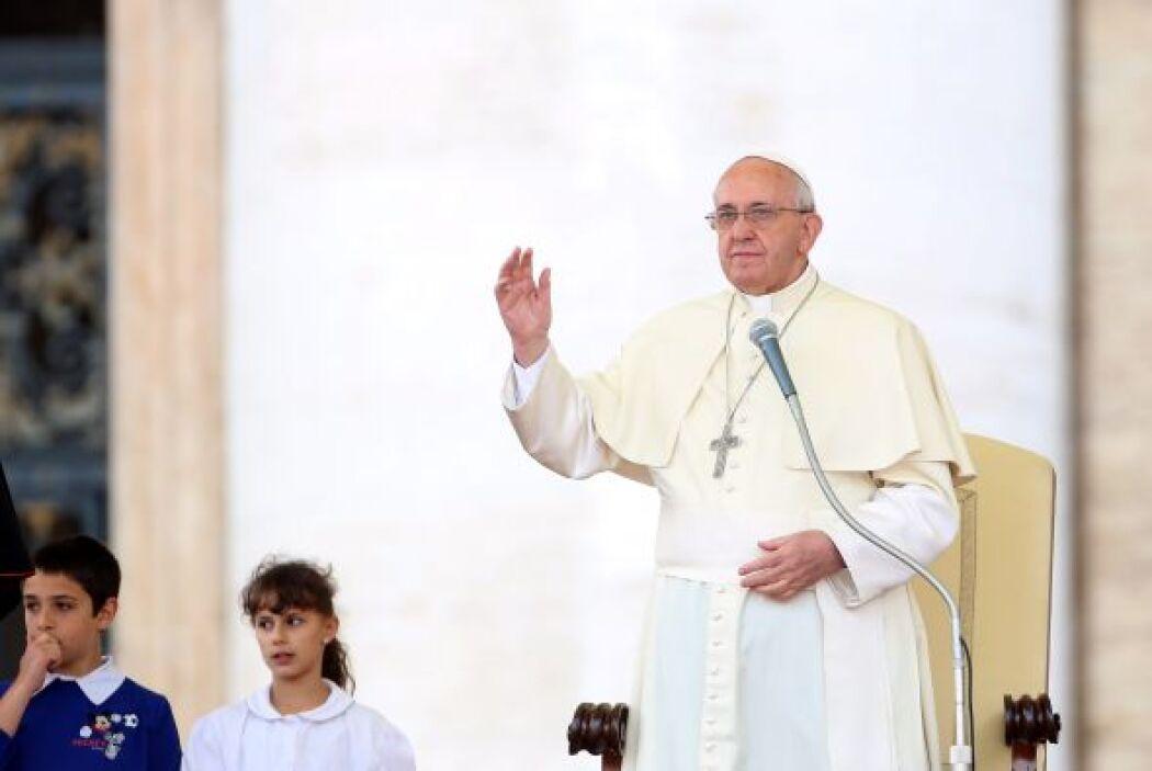 En esta jornada, el pontífice también dedicó el rezo de esta oración a l...