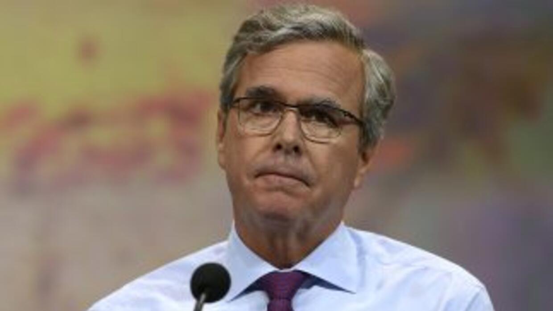 El exgobernador de Florida, Jeb Bush.