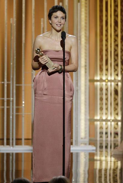 Maggie Gyllenhaal, mejor actriz en miniserie o cinta para TV por 'The Ho...