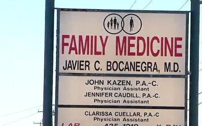 Clínica Family Medicine en San Antonio se dedicaba a dar recetas médicas...