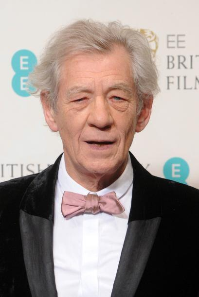 "Ian McKellen El renombrado actor de las sagas de ""X Men"" y ""The Lord of..."