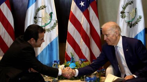 Morales y Biden
