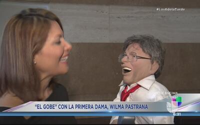 'El Gobe' se encuentra con Wilma Pastrana