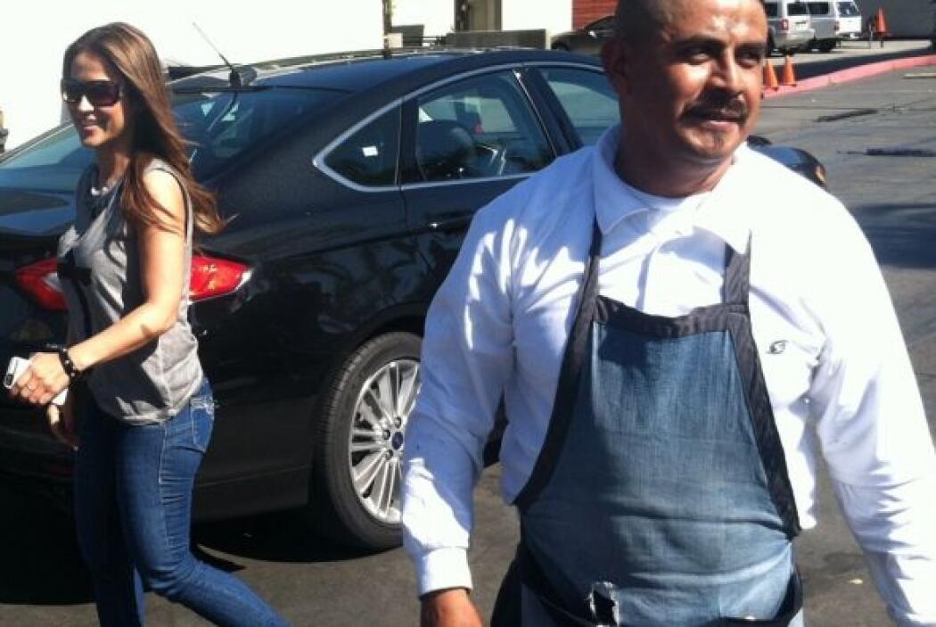 Guerrido adora cuidar su auto y tenerlo siempre limpio.
