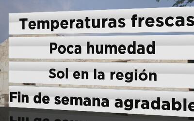 San Antonio tendrá temperaturas frescas y poca humedad este fin de seman...