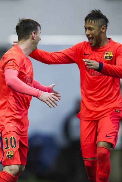La dupla Leo-Ney le ha dado frutos al ataque catalán sin dejar de...