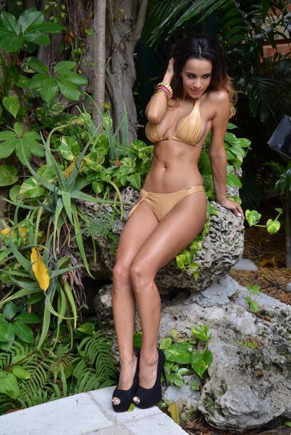 A pesar de poseer un cuerpo de envidiable, ella está cien por ciento con...