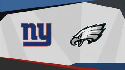 Previo del New York Giants vs Philadelphia Eagles