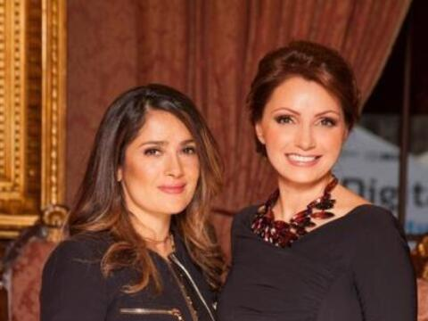 Angélica Rivera y Salma Hayek se reunieron en la cena que se real...