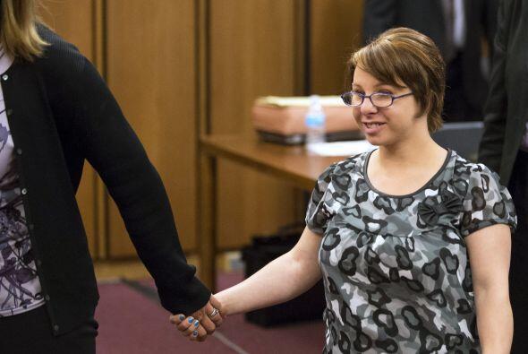 Inesperadamente, al juicio arribó Michelle Knight quien le dijo a...