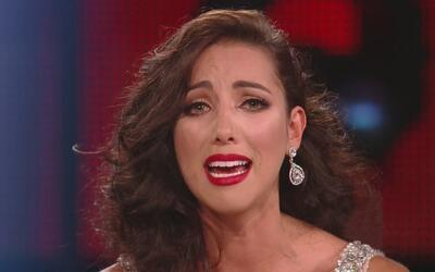 Setareh y Clarissa lloraron sin parar