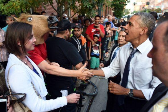 Y la prensa ha destacado la respuesta seria y a la vez simpática de Obama.