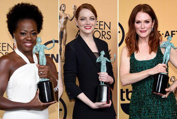 El gremio de actores reconoció a los mejores trabajos del año - y ahora...