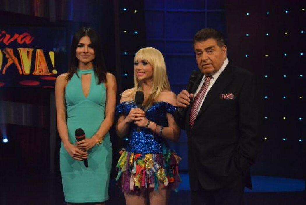 Don Francisco y Alejandra Espinoza, platicaron con ella sobre sus actos...