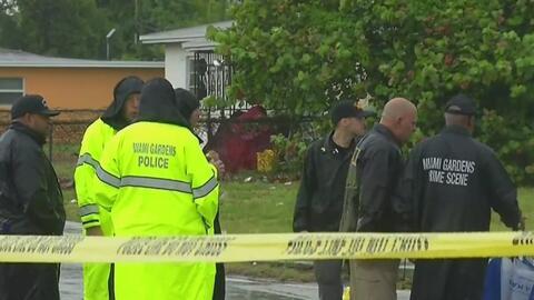 Un joven y un niño resultaron heridos con arma de fuego en Miami Gardens
