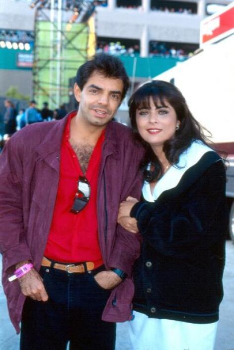 En 1997, tras cinco años de estar juntos, la pareja decidió separarse.