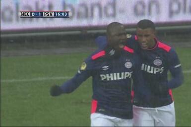 PSV golea de visita al NEC y se afianza como lider