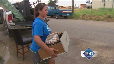 Familia de Eagle Pass pierde casa por inundación