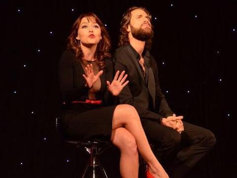 Actualmente Angelique está inmersa en el teatro con su actual pareja Seb...
