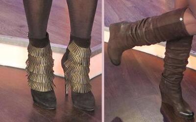 Zapatos 101 con Lili Estefan: Los secretos para comprar zapatos fabuloso...