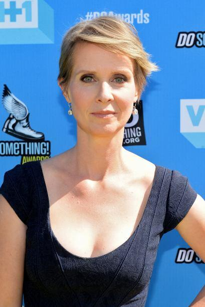 "Cynthia Nixon La inolvidable Miranda de ""Sex and the City"". Mira aquí lo..."