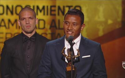 Luis Garrido pone el ejemplo y se lleva el Reconocimiento Muhammad Ali
