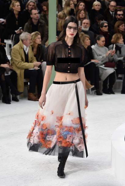 París, Fashion Week, la señorita Kendall Jenner fue una de las grandes p...