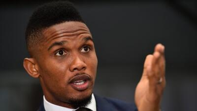 El futbolista africano fue galardonado en Londres por su trabajo contra...