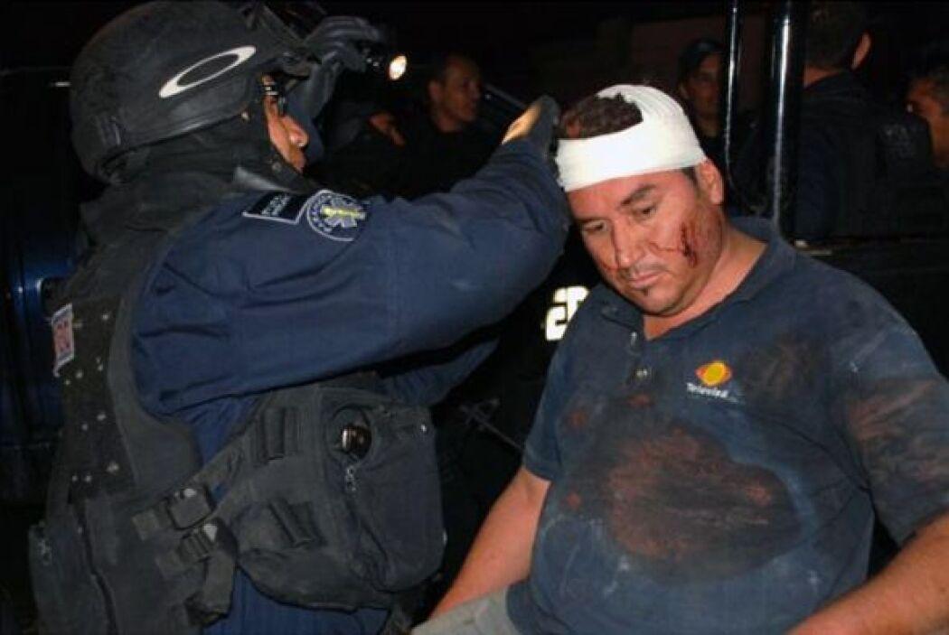 Alejandro Hernández Pacheco, camarógrafo de Televisa, fue el otro rescat...