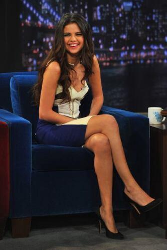 Esta es la segunda ocasión que Selena visita el programa.