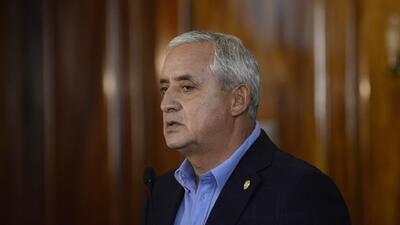 Pérez Molina no podrá salir de Guatemala