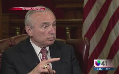 Entrevista en exclusiva con William Bratton