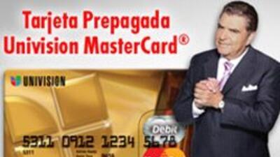 Tarjeta Prepagada Univision MasterCard® f898f7c514ac43849d3f3c11b269f8d2...