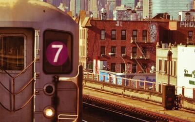 El 7 es el tren más diverso de Estados Unidos. ¿Qué...