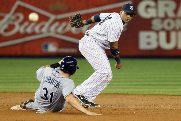 Los quisqueyanos Robinson Canó (2B, Yankees) y …