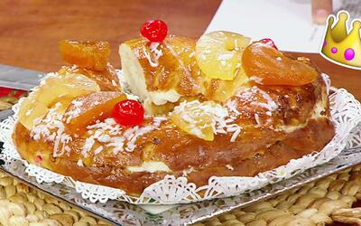Prepara tú mismo una tradicional Rosca de Reyes