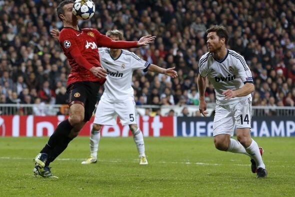 En los minutos finales, el United apostó por ir en busca de otro...
