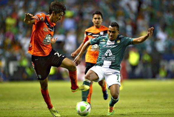 Edwin Hernández (10).- El lateral izquierdo de los 'Panzas Verdes...