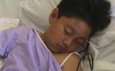 'Área de la Bahía en un Minuto': un niño de nueve años de edad fue balea...