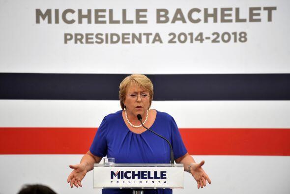 Michelle Bachelet es una amante de los derechos femeninos. Es una líder...
