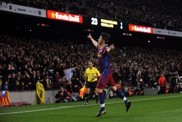 Luego David Villa acabó con su sequía goleadora con un hermoso tanto.