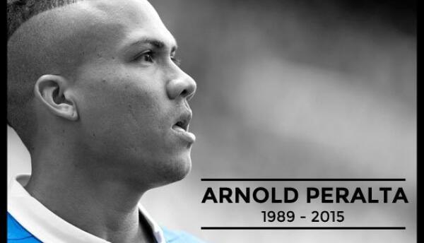 Arnold Peralta en la imagen del Rangers para recordarlos