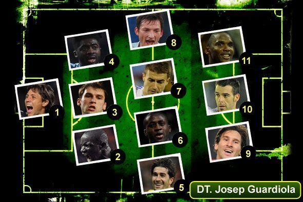 Una vez más, Univisionfutbol.com te presenta el 11 ideal del fútbol euro...