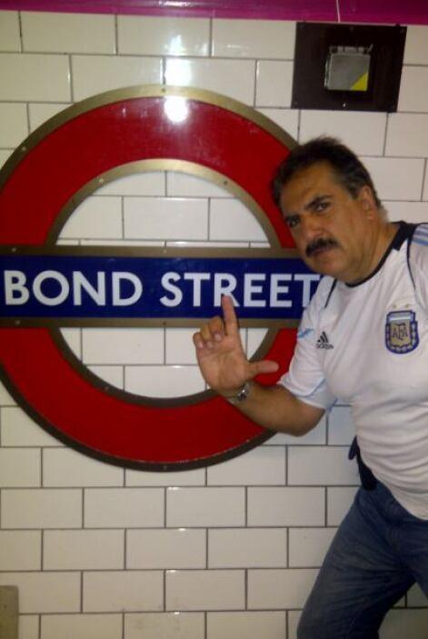 """Mi nombre es Fiore, Fernando Fiore. Pero la estación del """"tube"""" es de Bo..."""