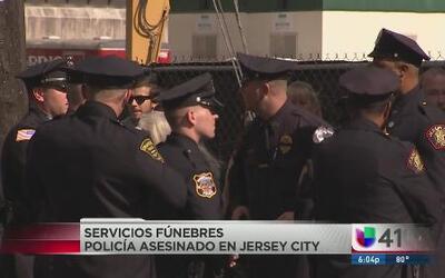 Despiden a policía que murió baleado en Jersey City