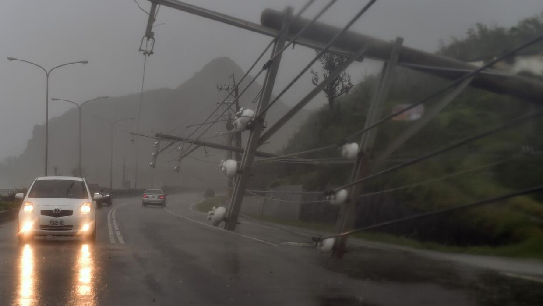 Alerta roja en China y Taiwán por súper tifón Meranti