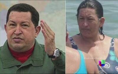 Una foto de una mujer que se parece a Hugo Chávez está causando gran rev...