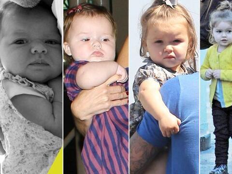 La hija de David y Victoria Beckham ha crecido muy rápido.  Mira...