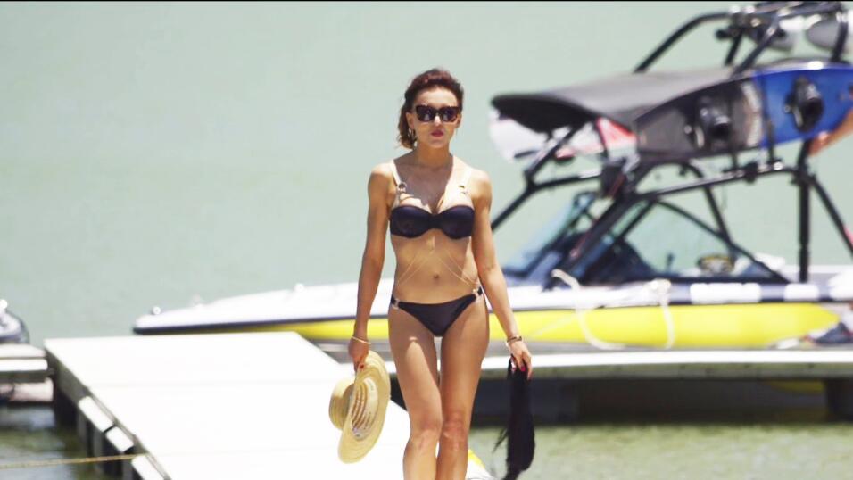 Ana Leticia en bikini